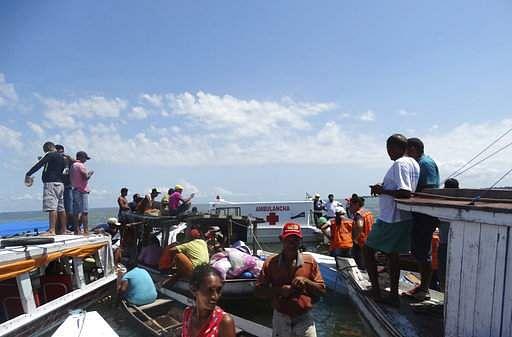 19 killed as ship capsizes in Brazil