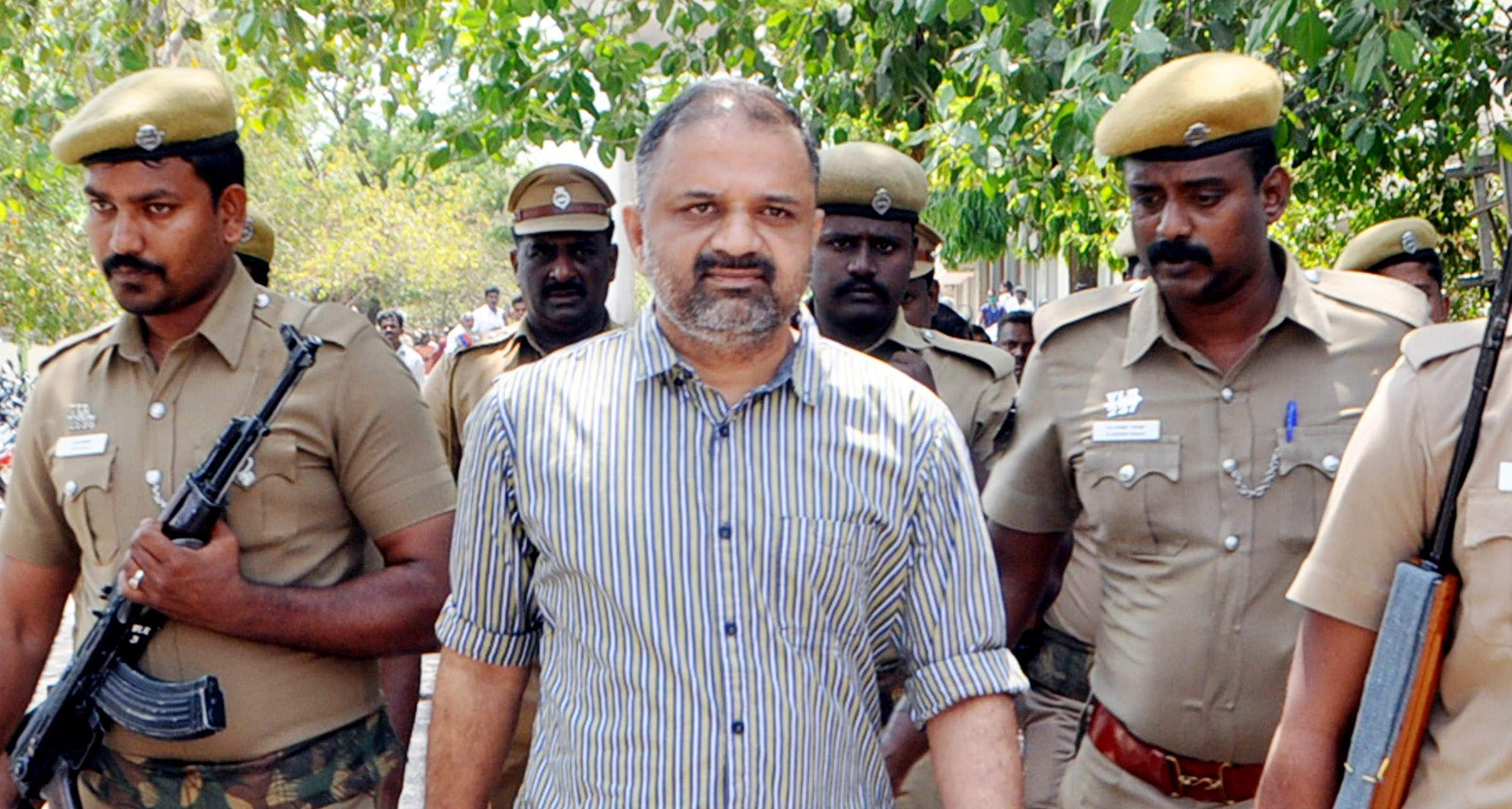 One month parole Rajiv Gandhi assassination case convict Perarivalan