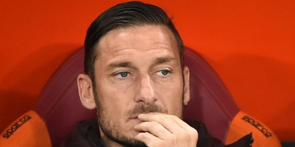 Former Roma forward Francesco Totti (File  | AP)