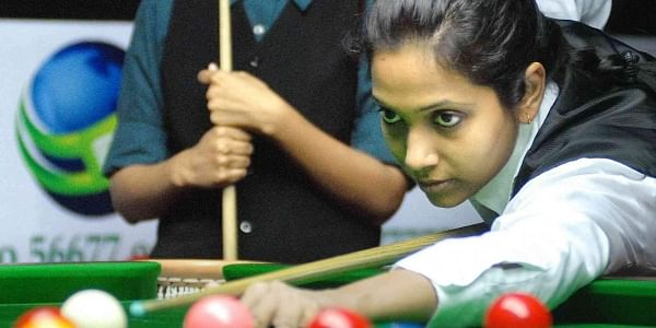 Vidya Pillai became the first Indian woman to reach the finals of the WLBSA World Women's Snooker Championship in 2017. (File | Express Photo Service)