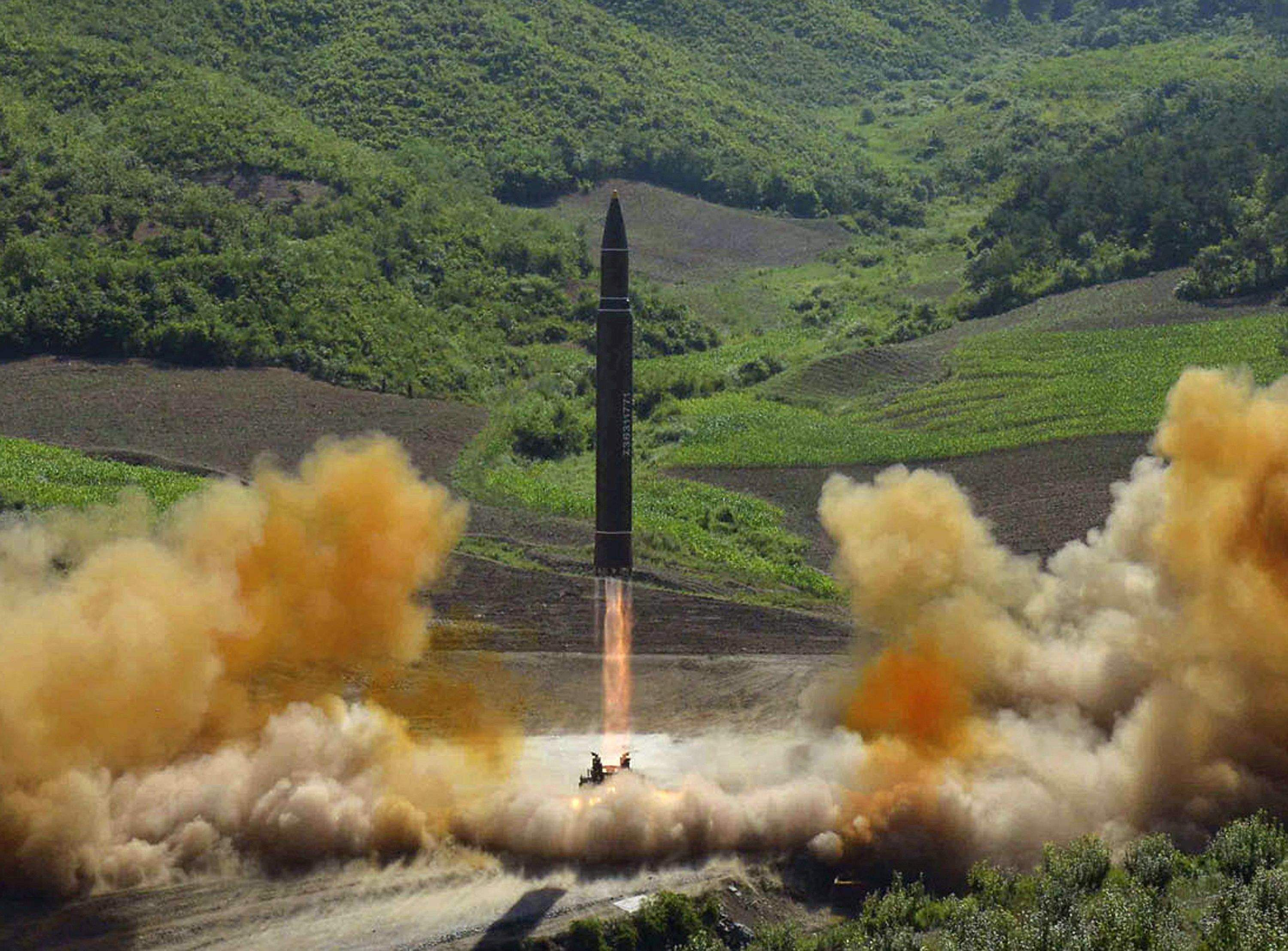 North Korea fires three missiles, U.S.  says they all failed