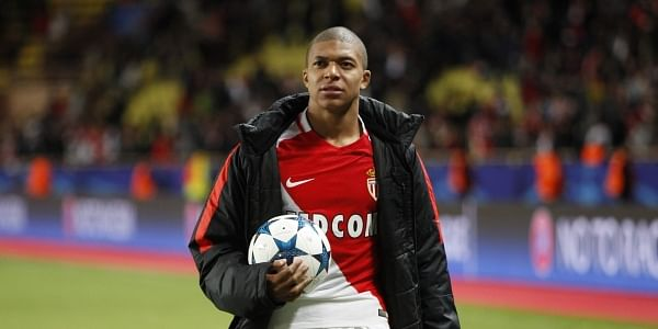 Monaco striker Kylian Mbappe has not featured in either of Monaco's last two games amid talk of a move to PSG. (File | AP)