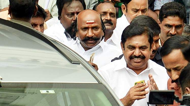 DMK to meet Governor, press for floor test