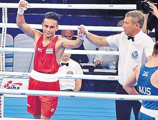 Gaurav Bidhuri enters semi-final, assured of bronze medal