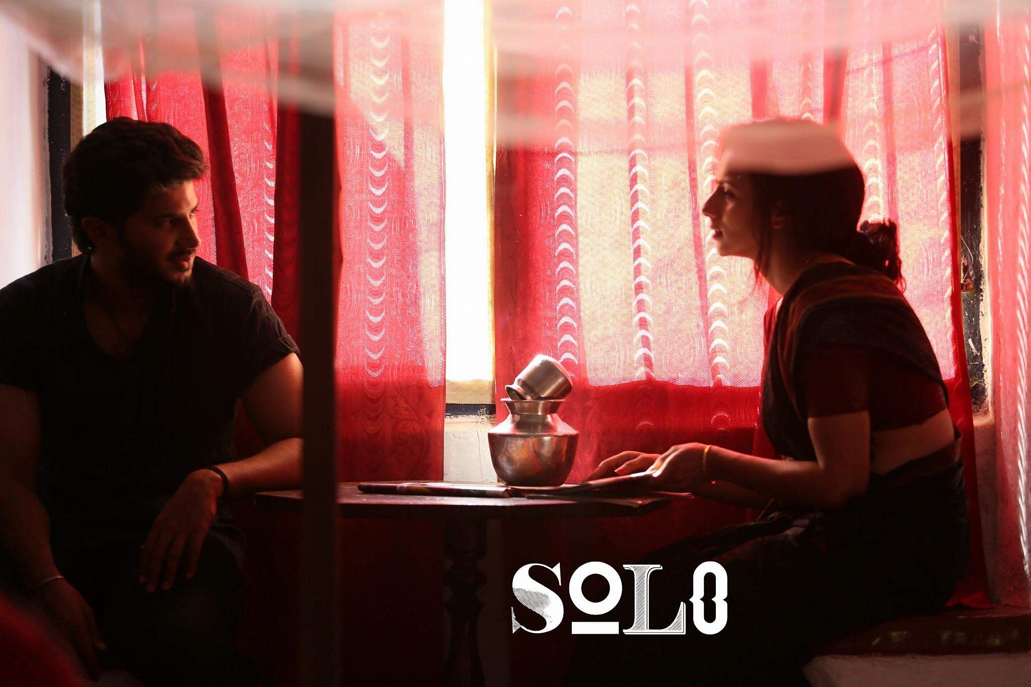Solo,Dulquer Salmaan, sruthi hariharan