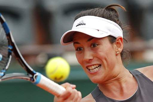 Muguruza cruises, Kvitova eliminated at Stanford Classic