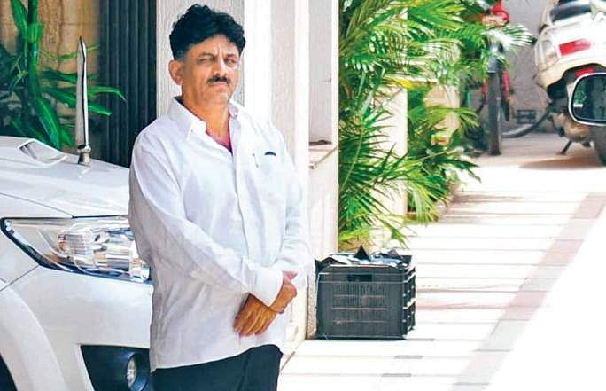 IT dept raids Karnataka minister DK Shivkumar's house, recovers ₹7.5 crore