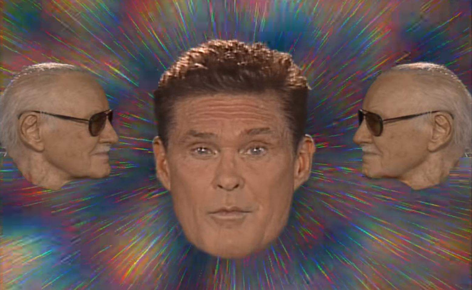 David Hasselhoff Stars in 'Guardians' Music Video to Promote DVD Release!