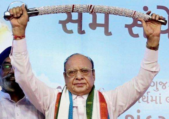 Shankersinh Vaghela extends support to new front