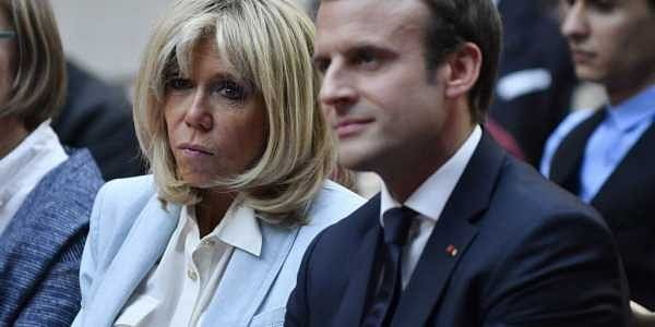 French First Lady Brigitte Macron Fetes First Panda Born In France The New Indian Express