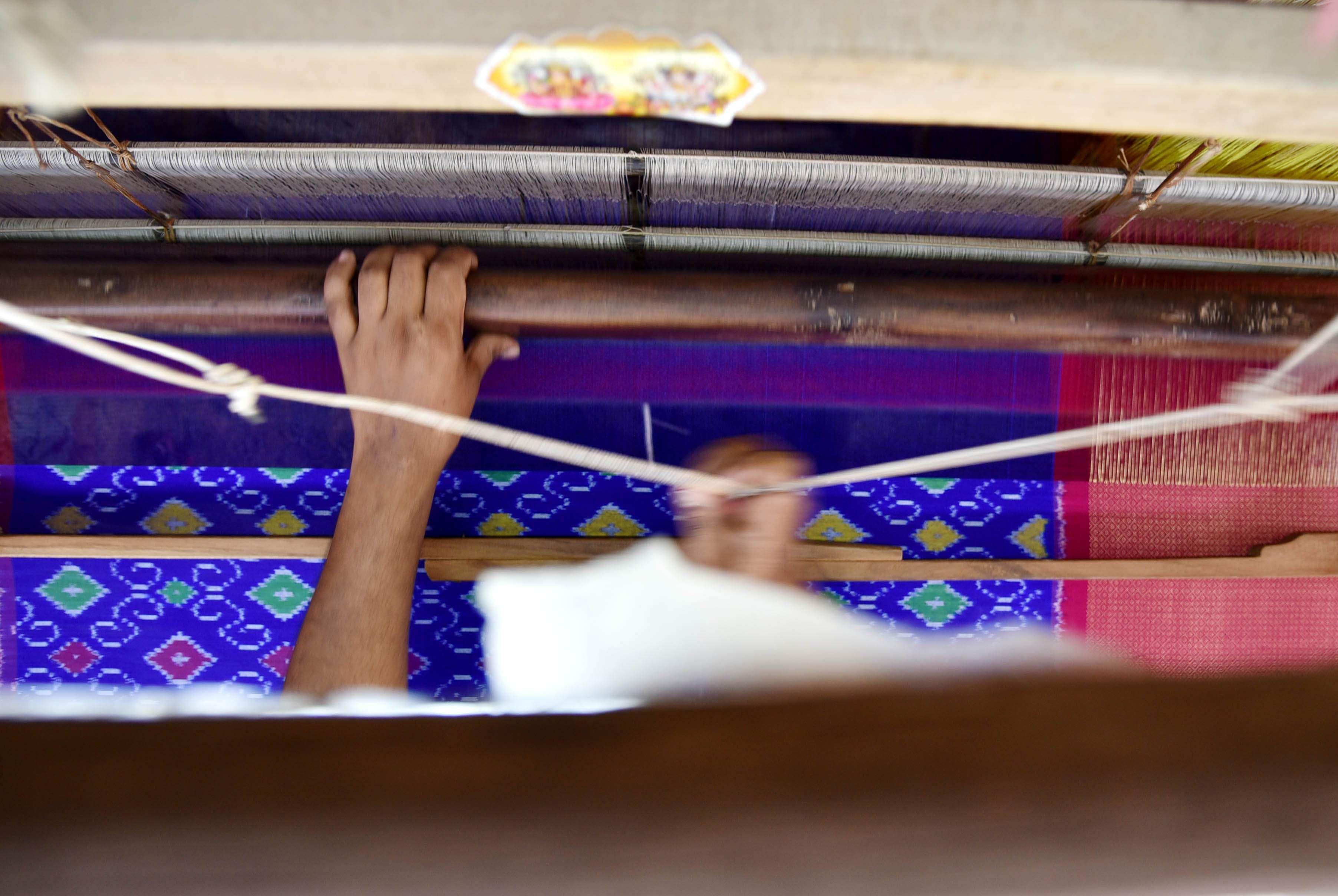 Weavers of Pochampally village of Andra Pradesh- The New