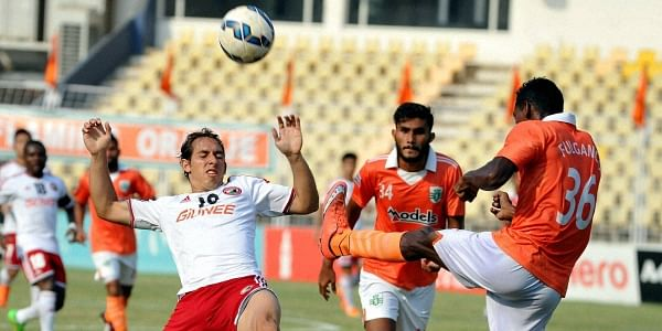 The I-League will run simultaneously with the Indian Super League (ISL) from November. The winners of the ISL will take part in the AFC Cup.