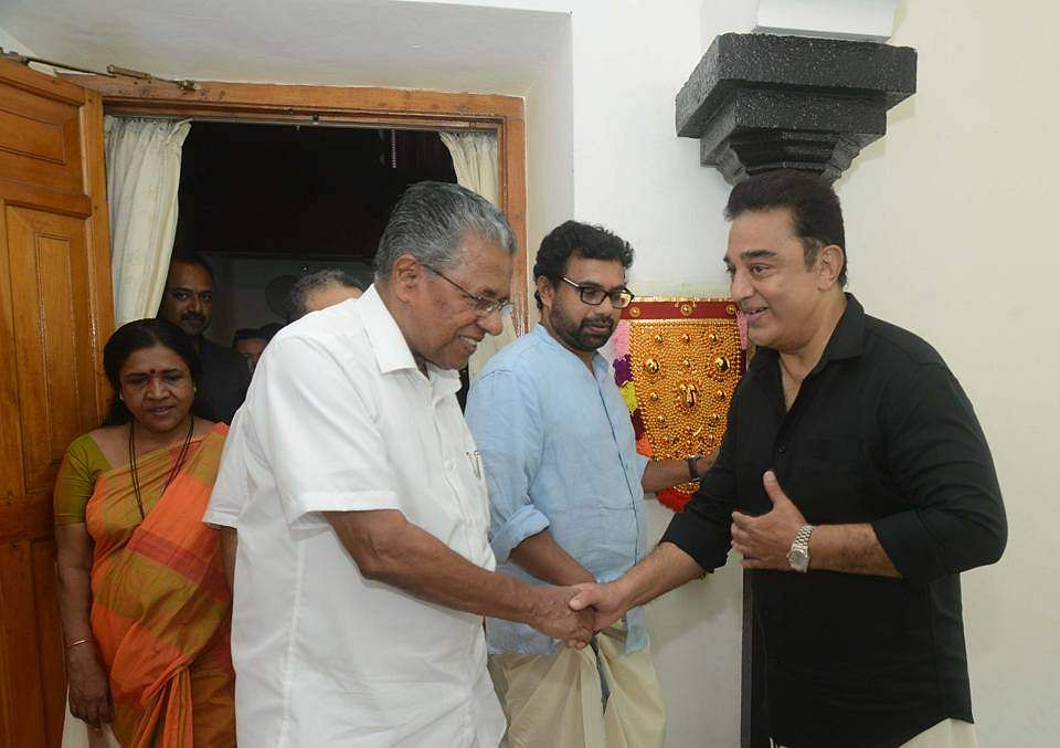 Kamal Haasan, Kerala CM discuss TN politics