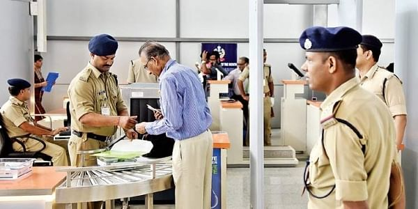 Image result for cisf at airport