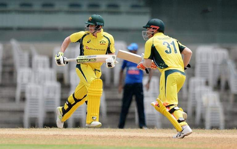 Image result for Australia warm up in style, thrash BP XI by 103 runs