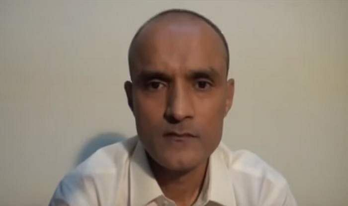 YouTube screen grab of Kulbhushan Jadhav