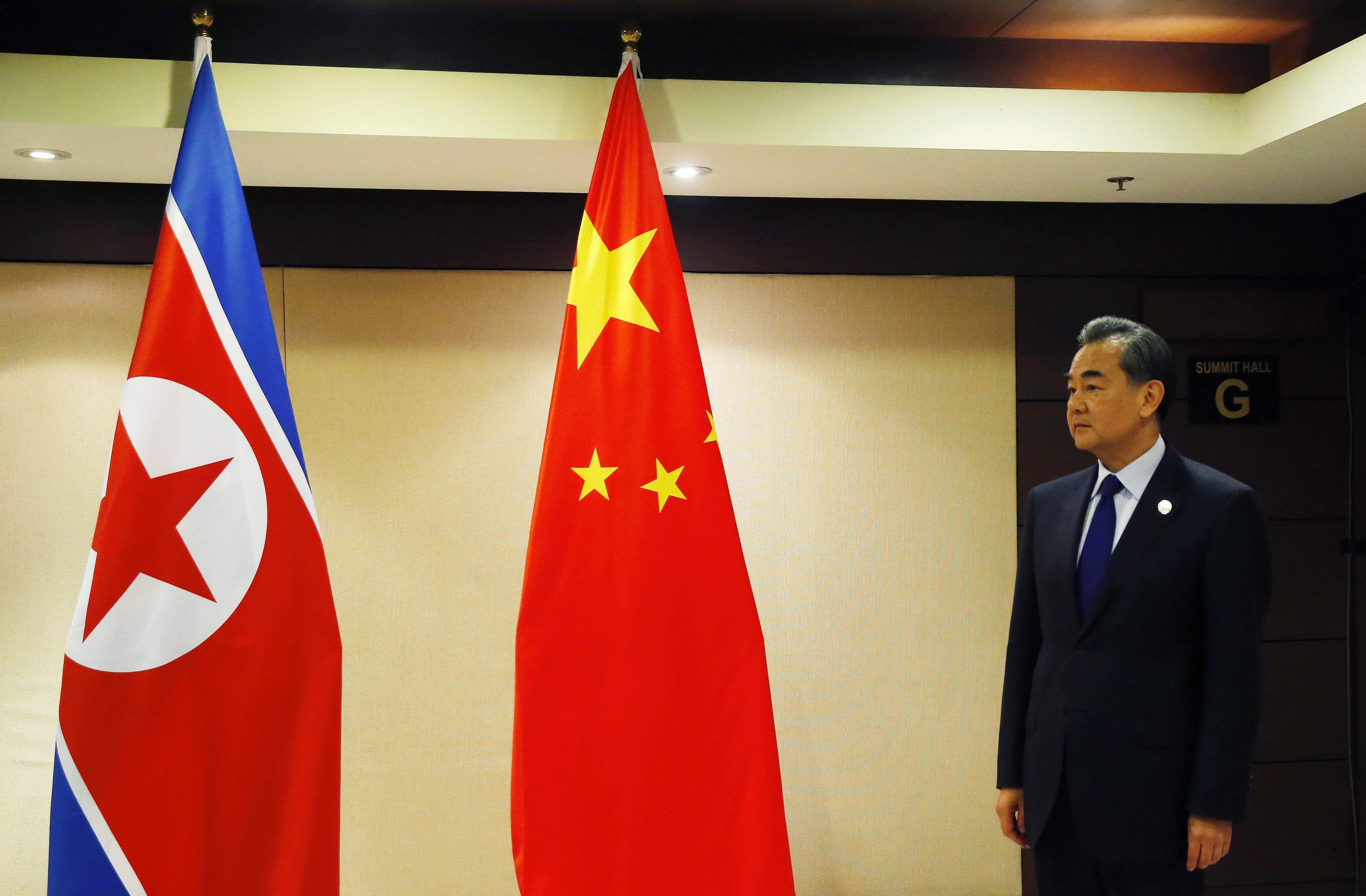 China denounces North Korea's missile launch