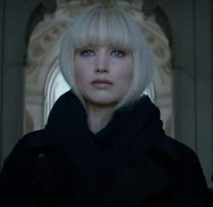 Jennifer Lawrence Goes All Femme Fatale In New Red Sparrow Trailer