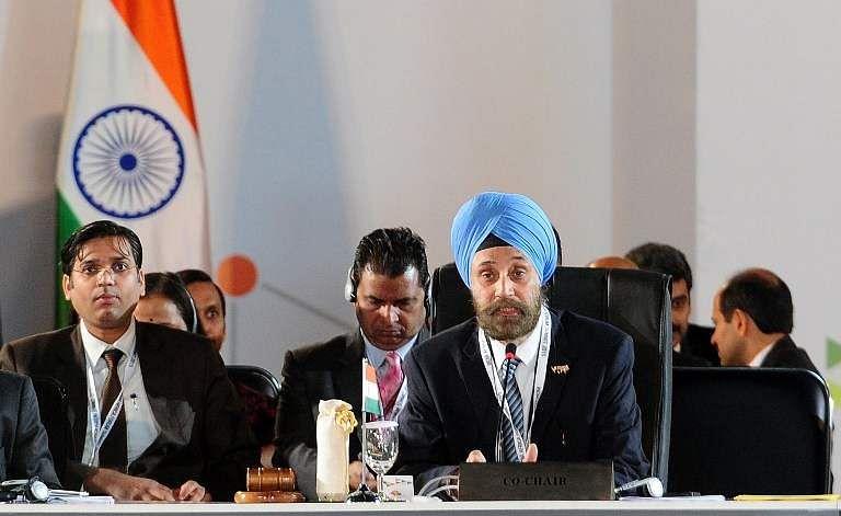 India's Ambassador to the US Navtej Sarna (Photo | AFP)