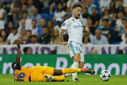 Real Madrid attacking midfielder Isco Alarcon | AP