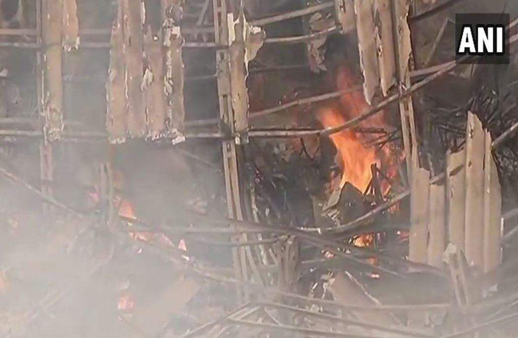 Major fire broke at iconic RK Studio in Mumbai