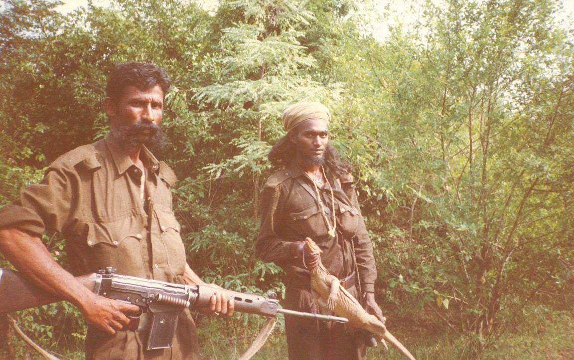 Slain sandalwood smuggler Veerappan (L) (File | EPS)