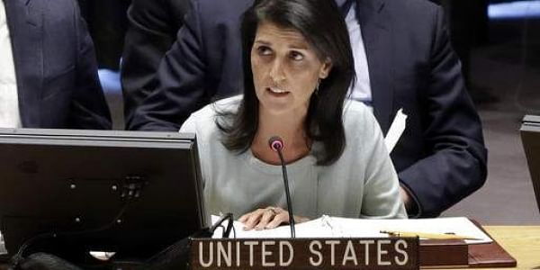 U.S. Ambassador to the U.N. Nikki Haley (File Photo | AP)