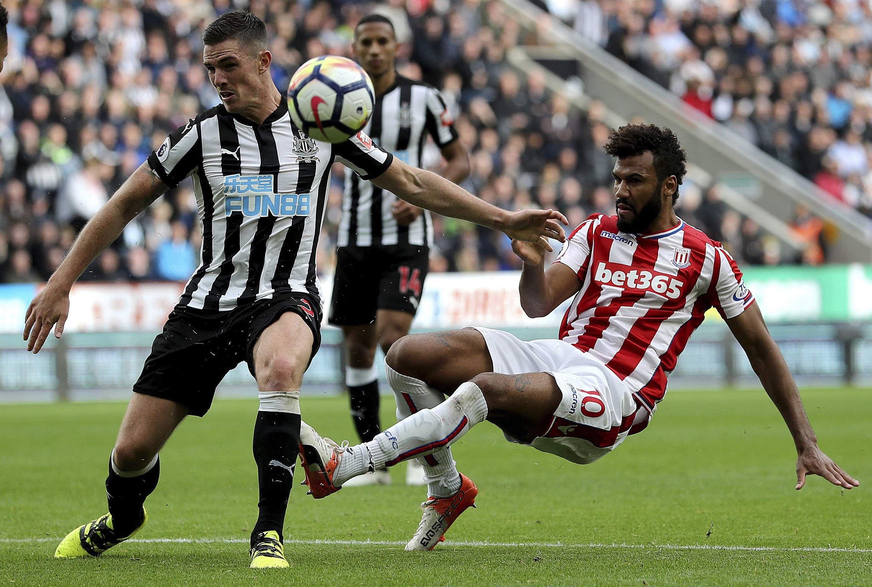Newcastle beat Stoke to record third successive win