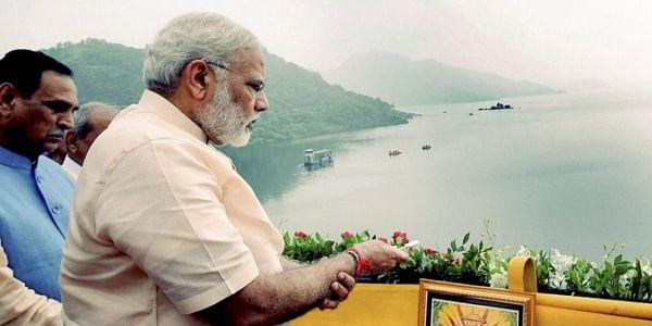 Prime Minister Narendra Modi inaugurated the ambitious 138 metre inter-state Sardar Sarovar Dam project on Narmada river on his 67th birthday on Sunday. | PTI