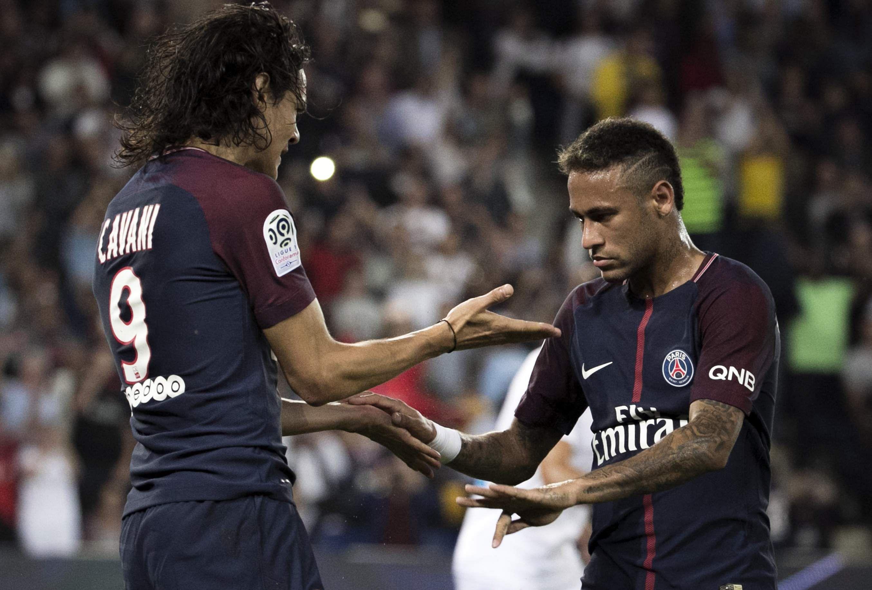 PSG win again but tensions simmer between Neymar Edinson Cavani