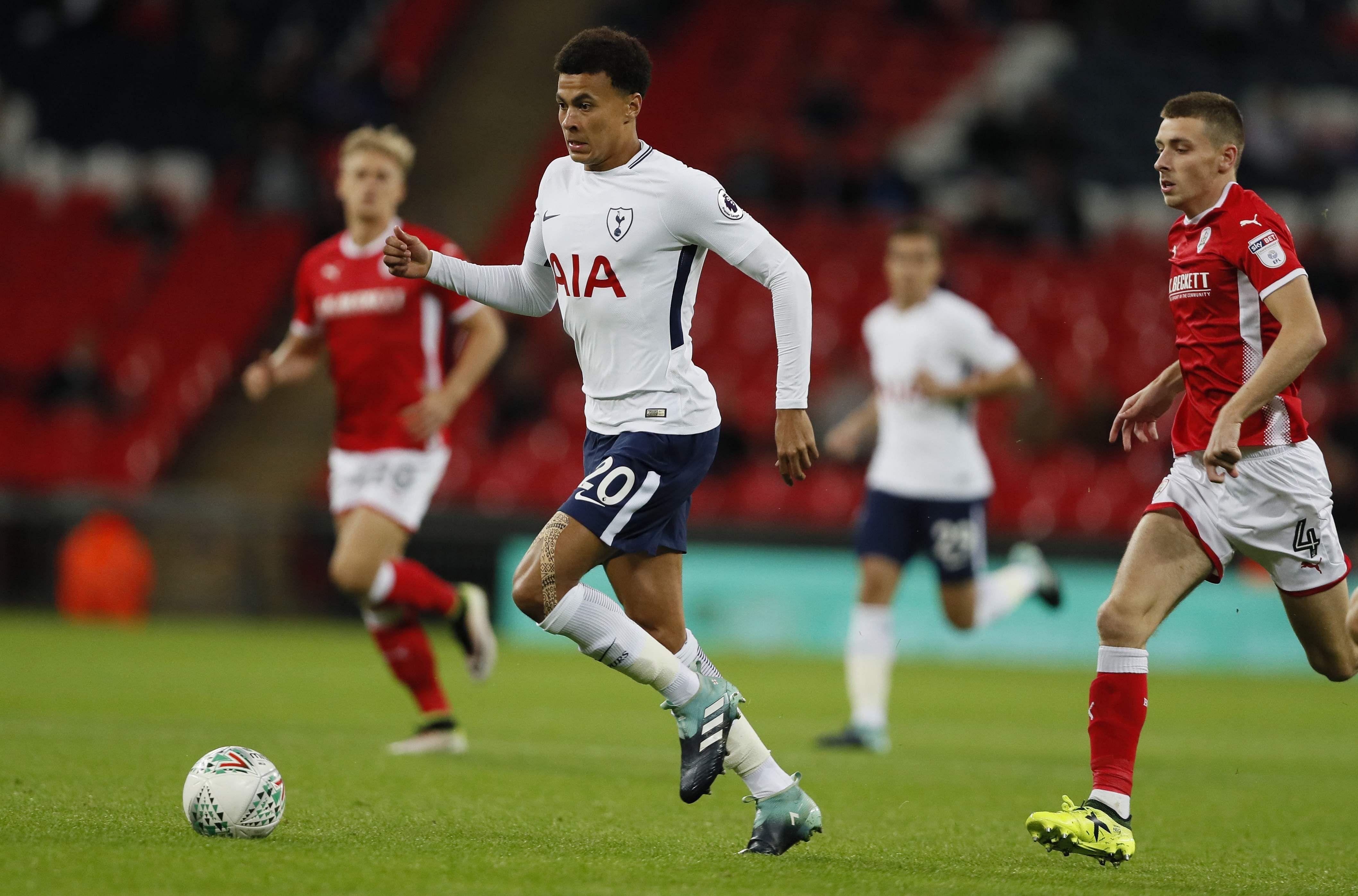 Pochettino finds positives in lacklustre Tottenham win over Barnsley