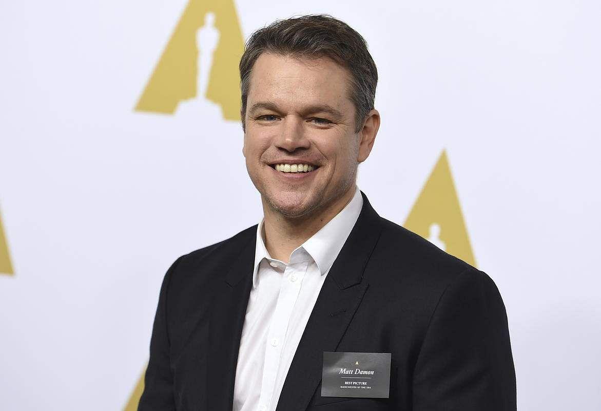 Matt Damon to star as con-man doctor in 'Charlatan'