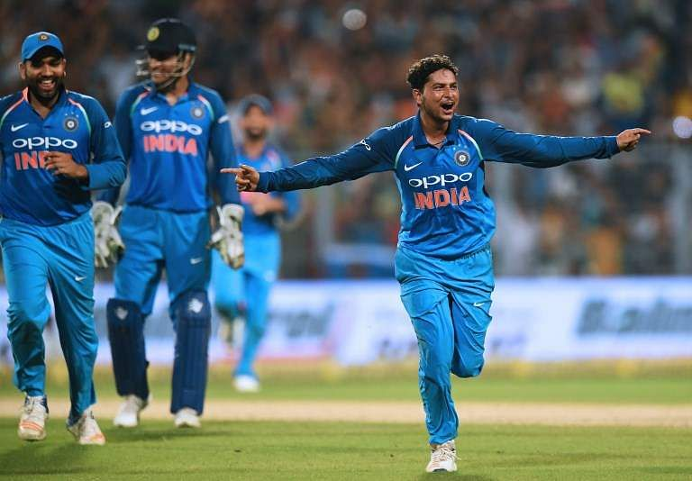 Kuldeep makes history with hat-trick