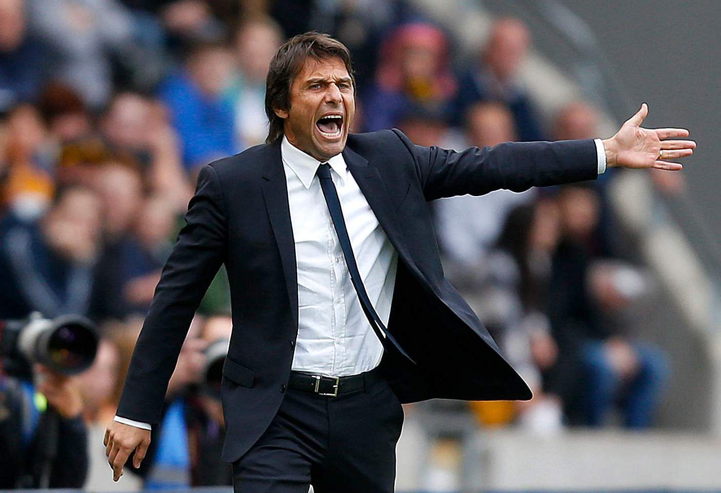 Conte says I'd let Morata marry my daughter