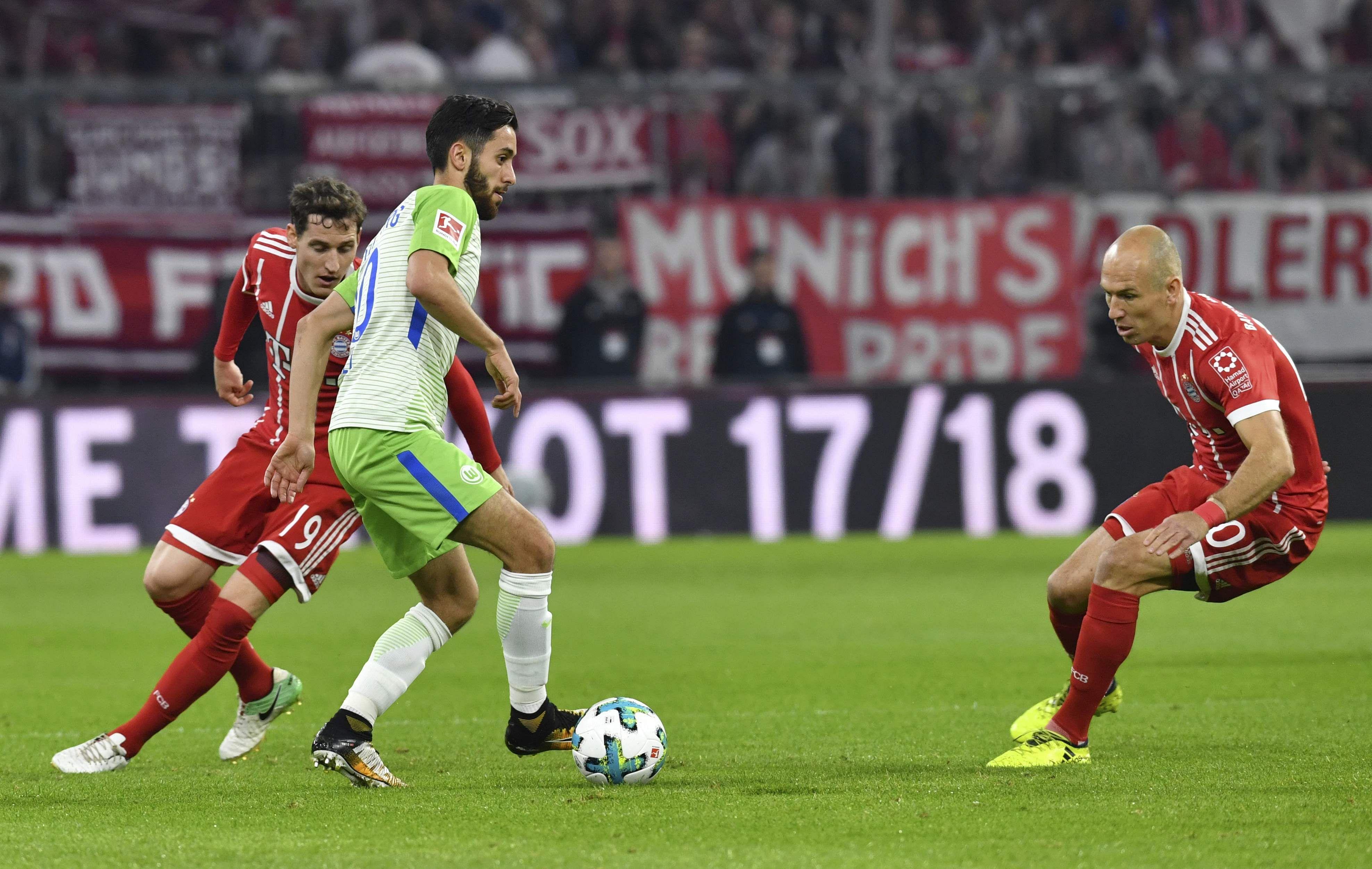 Wolfsburg Gegen Bayern München