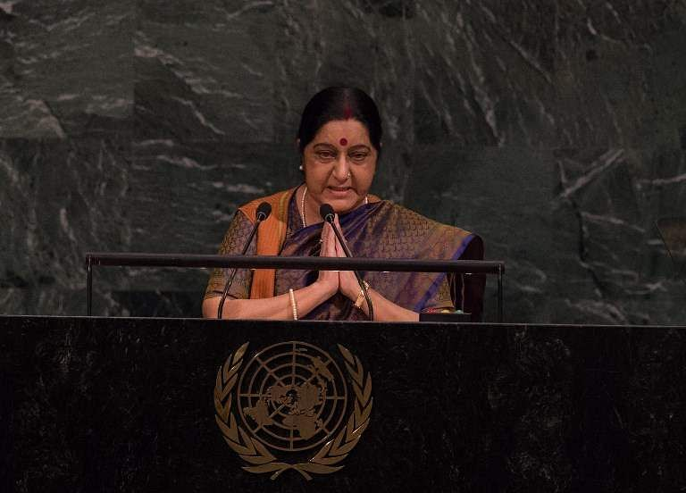 Terrorism can't be justified, says Sushma Swaraj at SCO meet