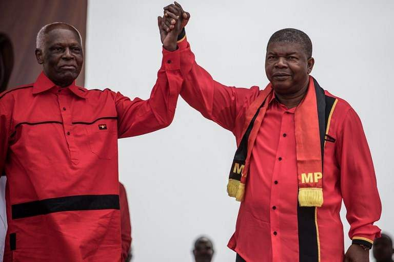 Image result for Angola Swears In 1st New President After 38 Years