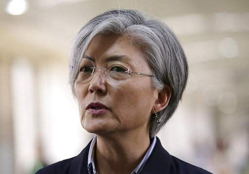 South Korean Foreign Minister Kang Kyung-wha