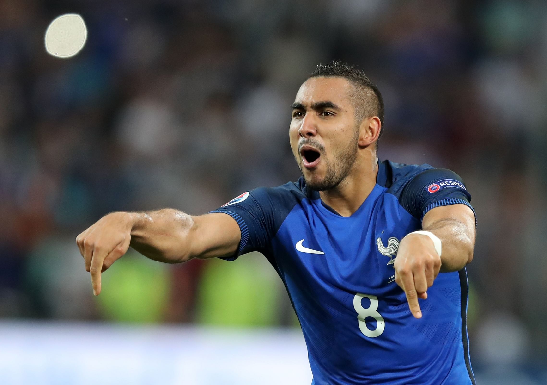 Dimitri Payet back with France for World Cup 2018 qualifiers