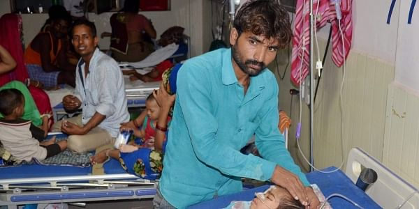 Accused Dr Kafeel Khan, who was earlier held in connection with the death of more than 70 children at the Baba Raghav Das Medical College's Hospital, was sent to police custody.  (File | PTI)
