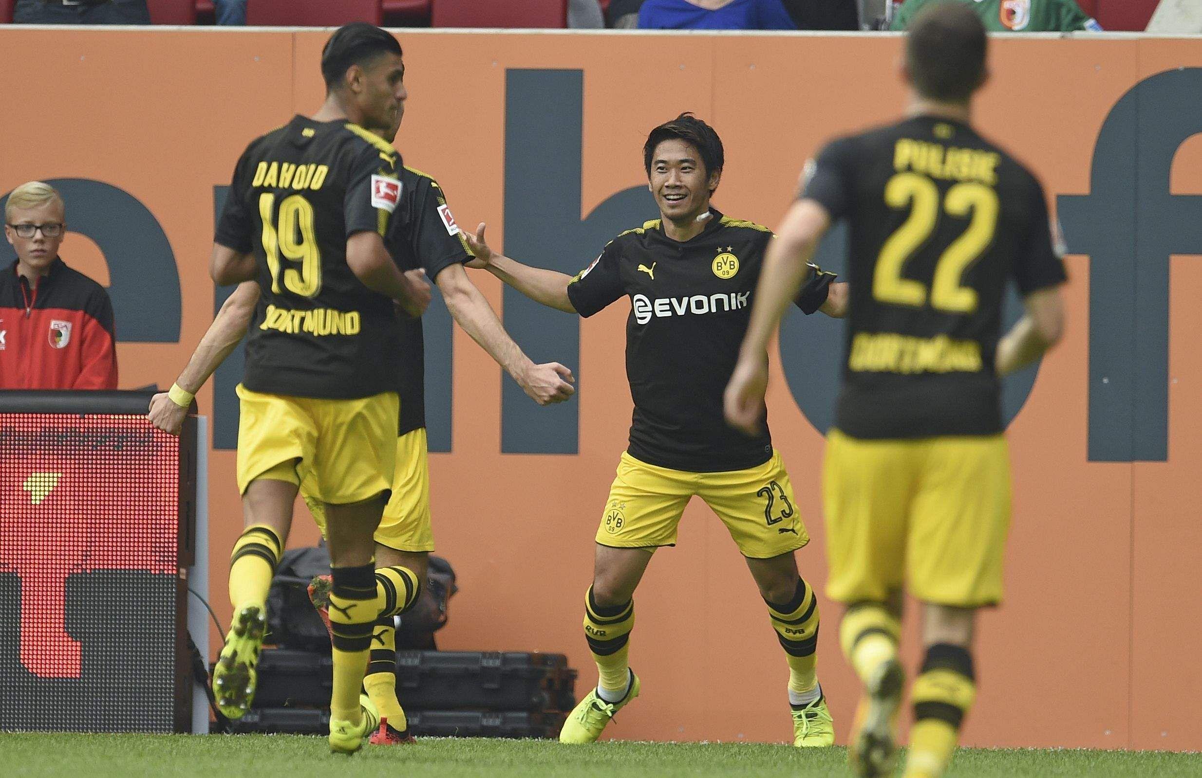 Shinji Kagawa be es highest Japanese scorer in Bundesliga The