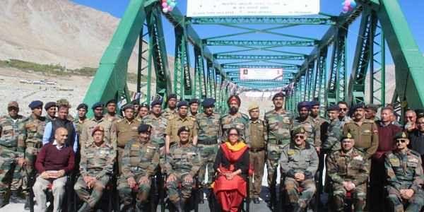 indian army leh bridge inmarathi