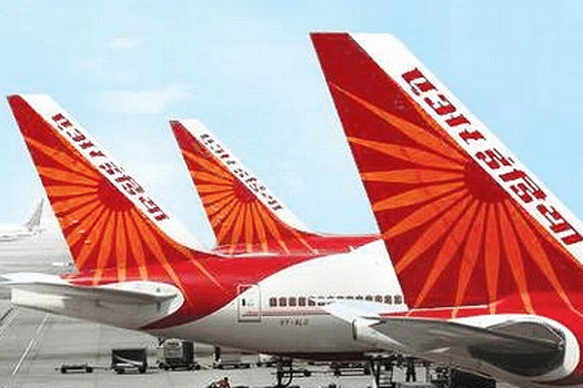 Air India plane hits a truck at Indira Gandhi International Airport