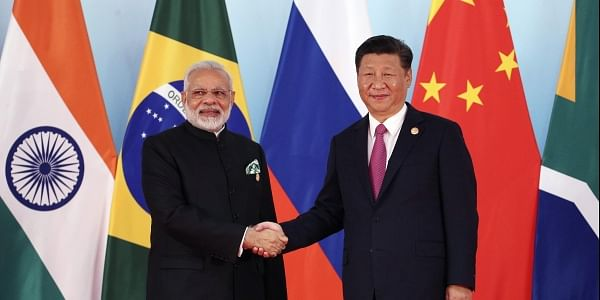 Prime Minister Narendra Modi and Chinese President Xi Jinping today held their first substantive bilateral meeting after the Dokalam standoff. (File   AP)