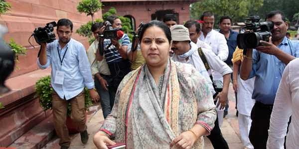 RJD chief Lalu Prasad's daughter MP Misa Bharti (File | Express Photo Service)