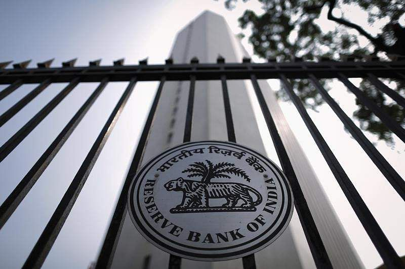 The Reserve Bank of India (RBI) seal is pictured on a gate outside the RBI headquarters in Mumbai October 29, 2013.|REUTERS