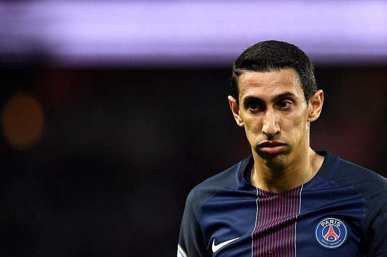 Image result for Di Maria thigh injury raises PSG fears