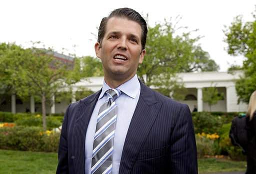 Why is Trump Jr's dinner offer in India being criticized?