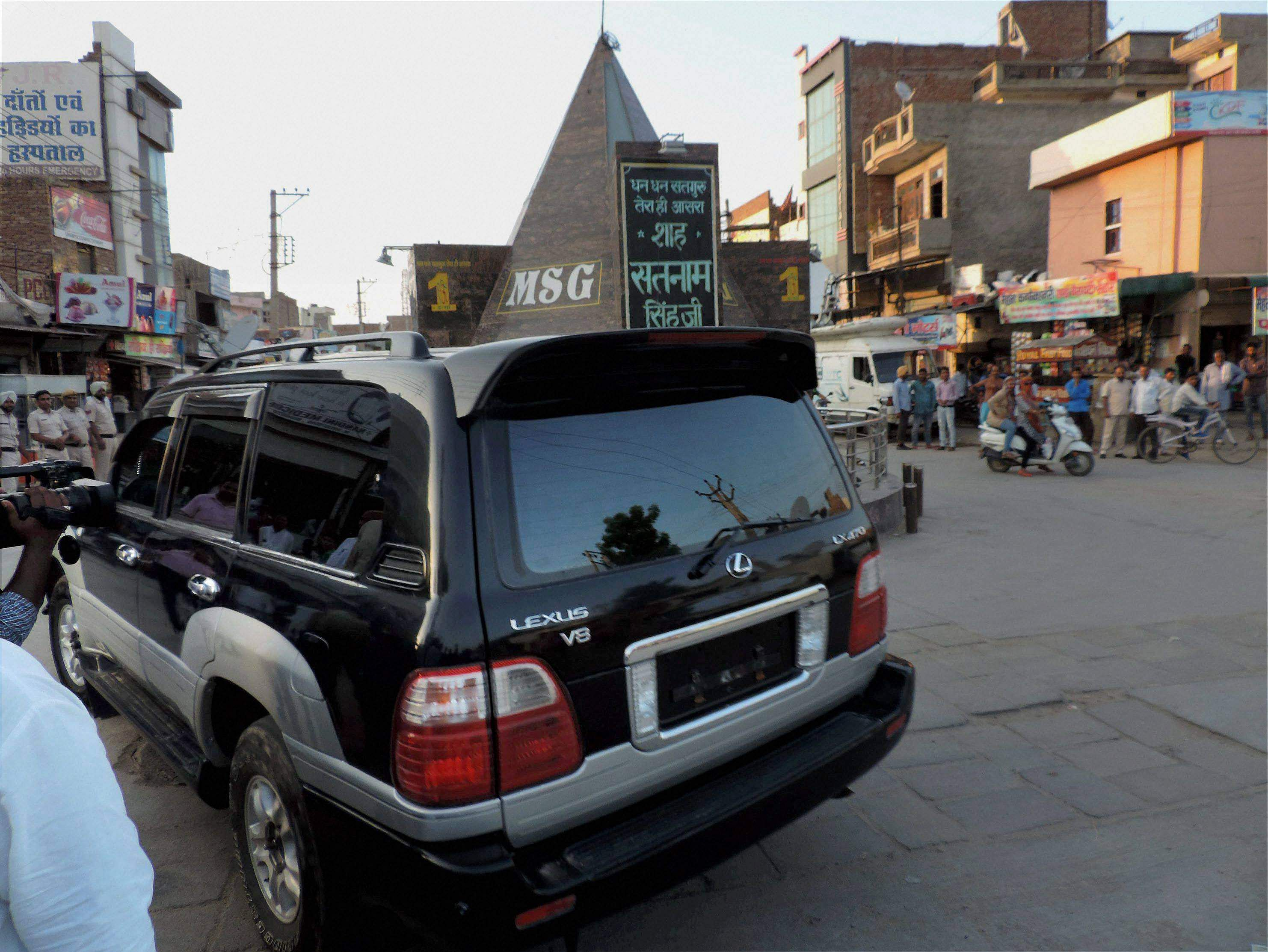 Luxury car, old notes seized from Dera headquarters; rooms sealed ...