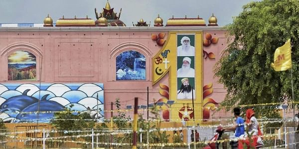 A view of the Dera Sacha Sauda headquarters in Sirsa (File | PTI)